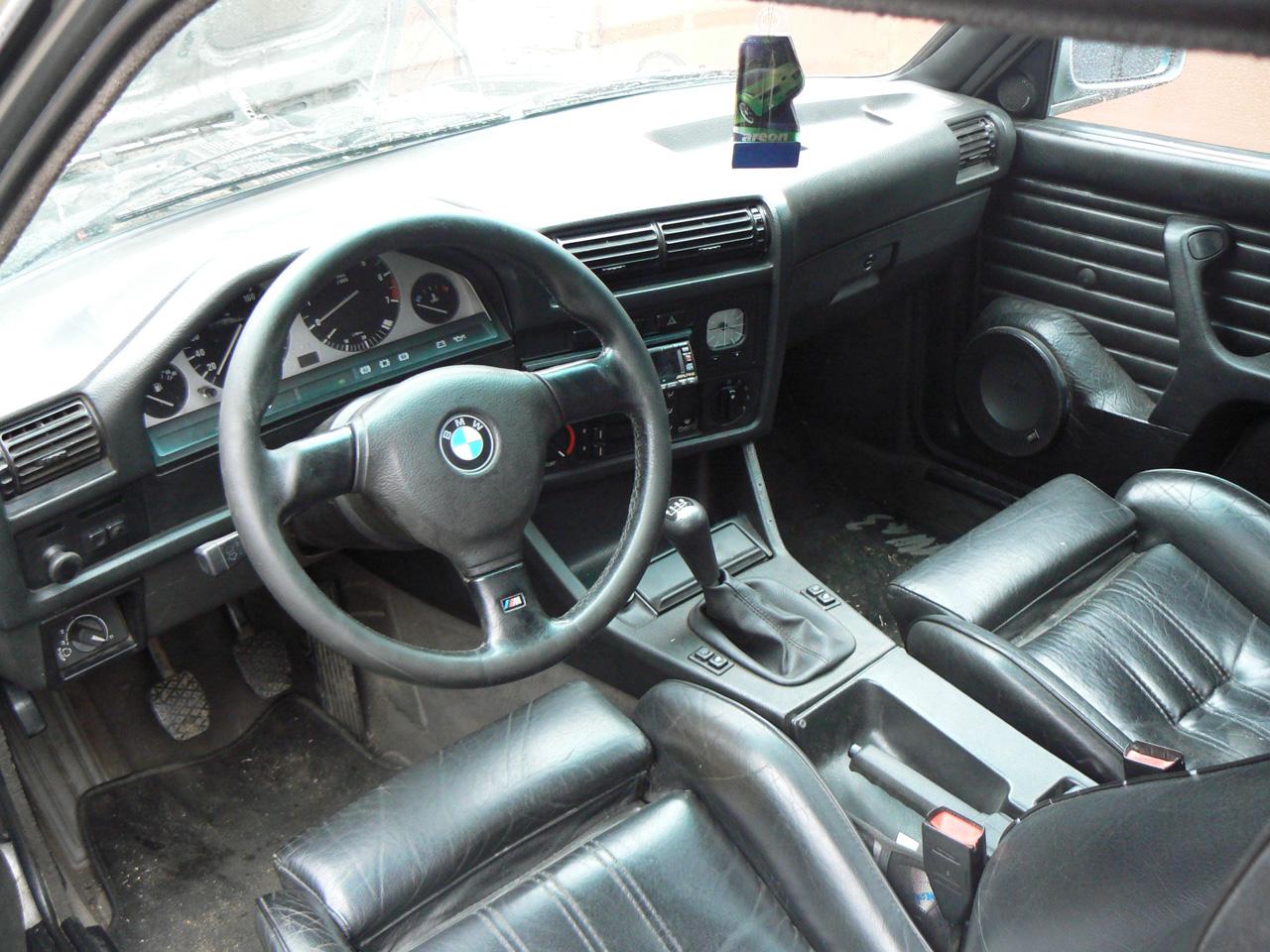 BMW E30 motorsport салон