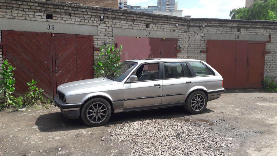 Диски AEZ на BMW E30
