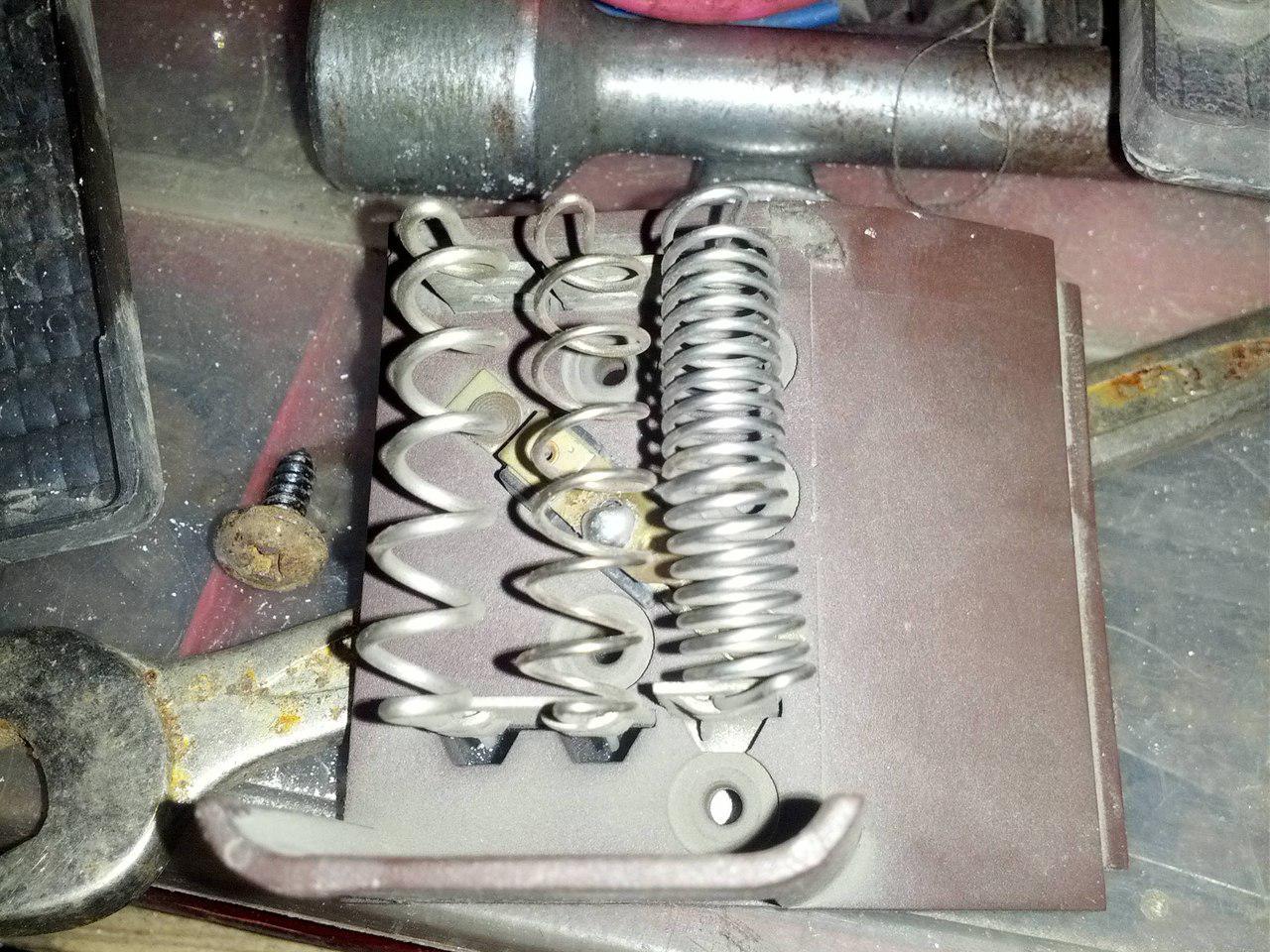 Старый резистор