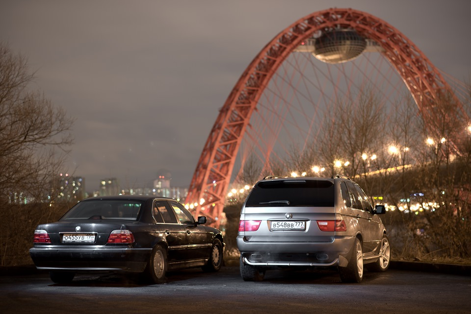BMW 7er E38 и X5 E53 4.4