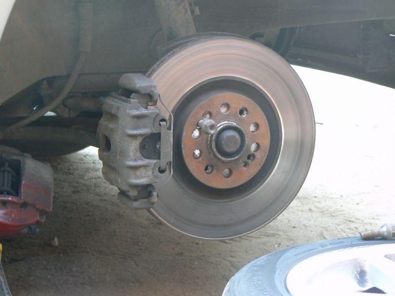 Суппорта от е34 540 и торм. диски от ауди тт 312мм