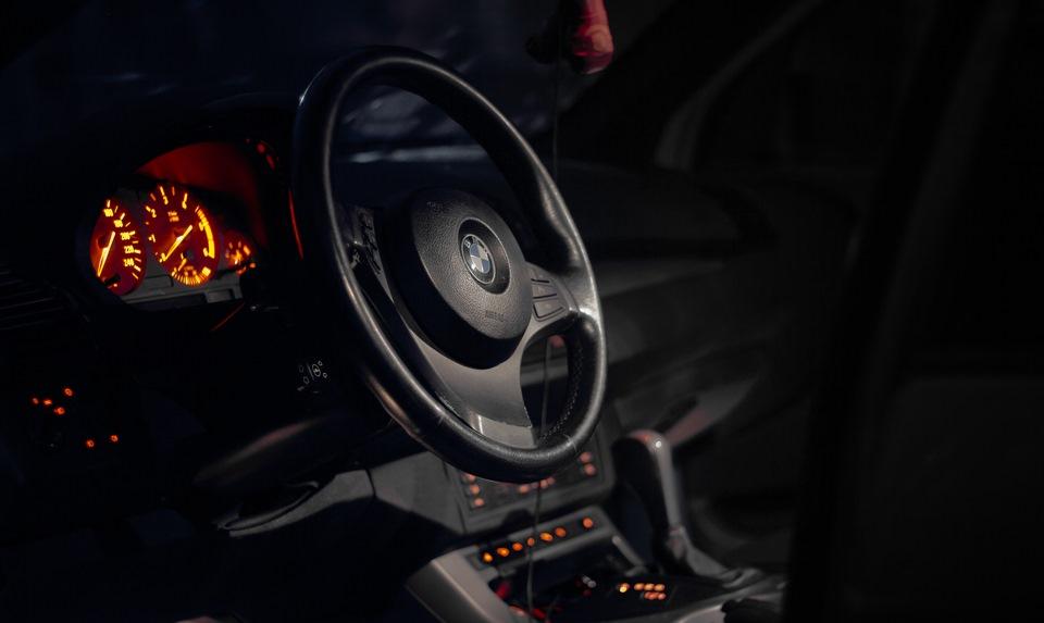 Руль М спорт X5 E53 3.0D
