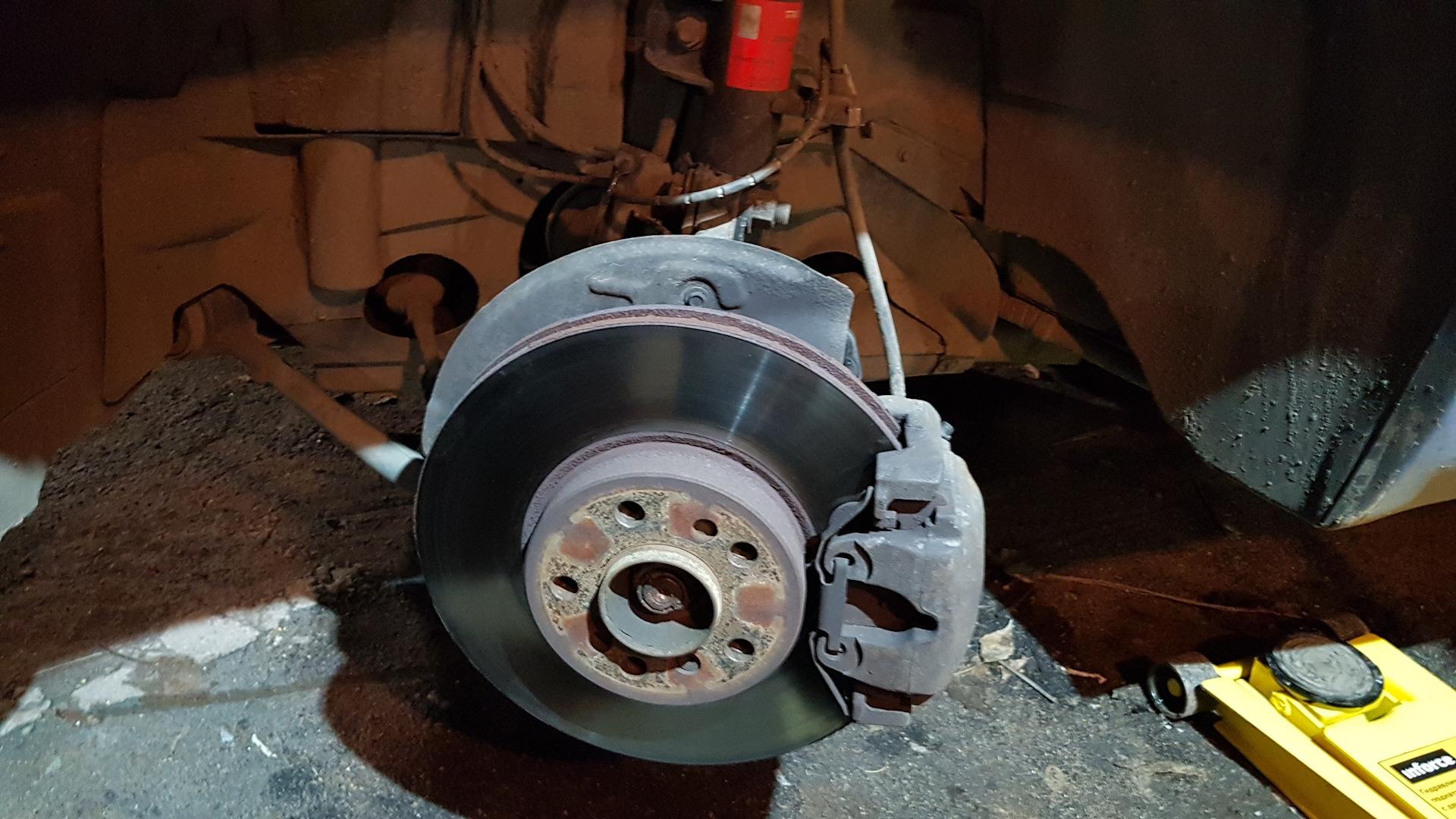 Старый тормозной диск