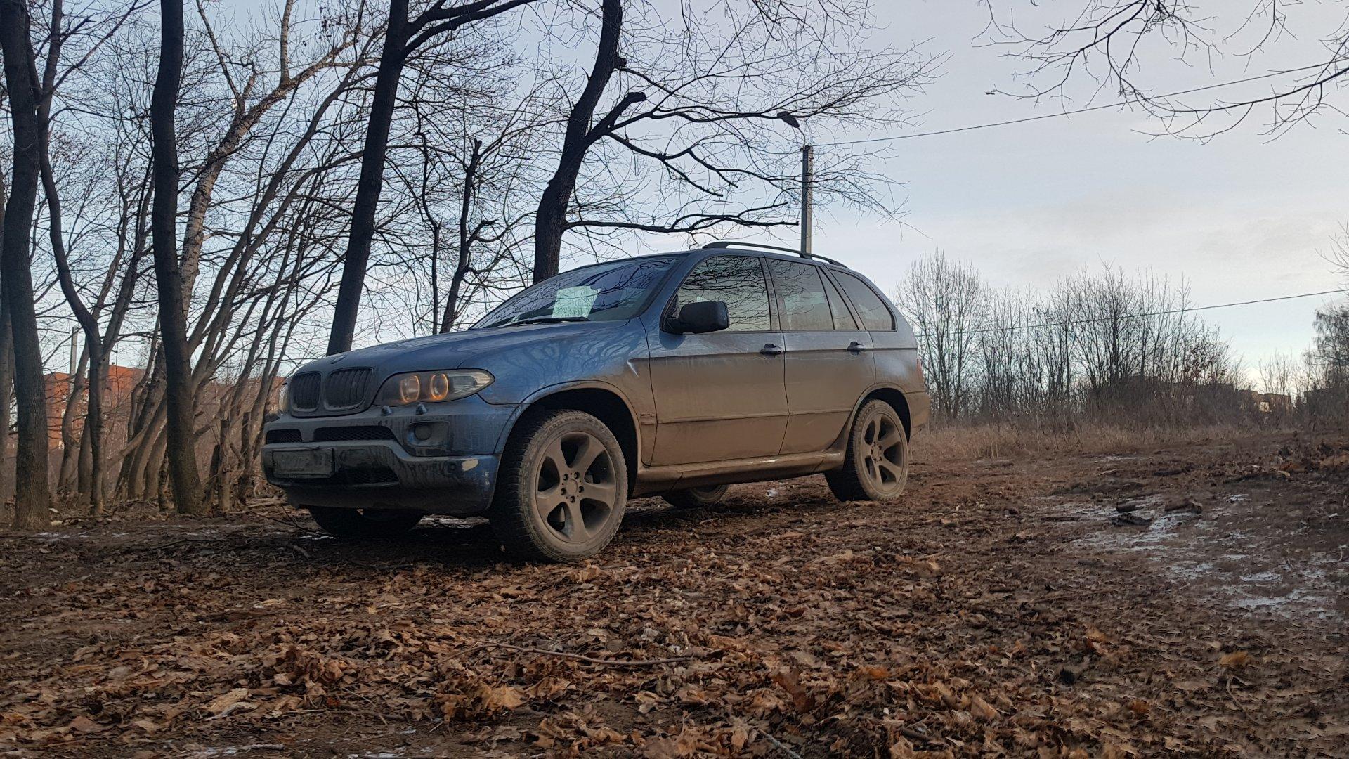 BMW X5 e53 3.0d Осеннее фото