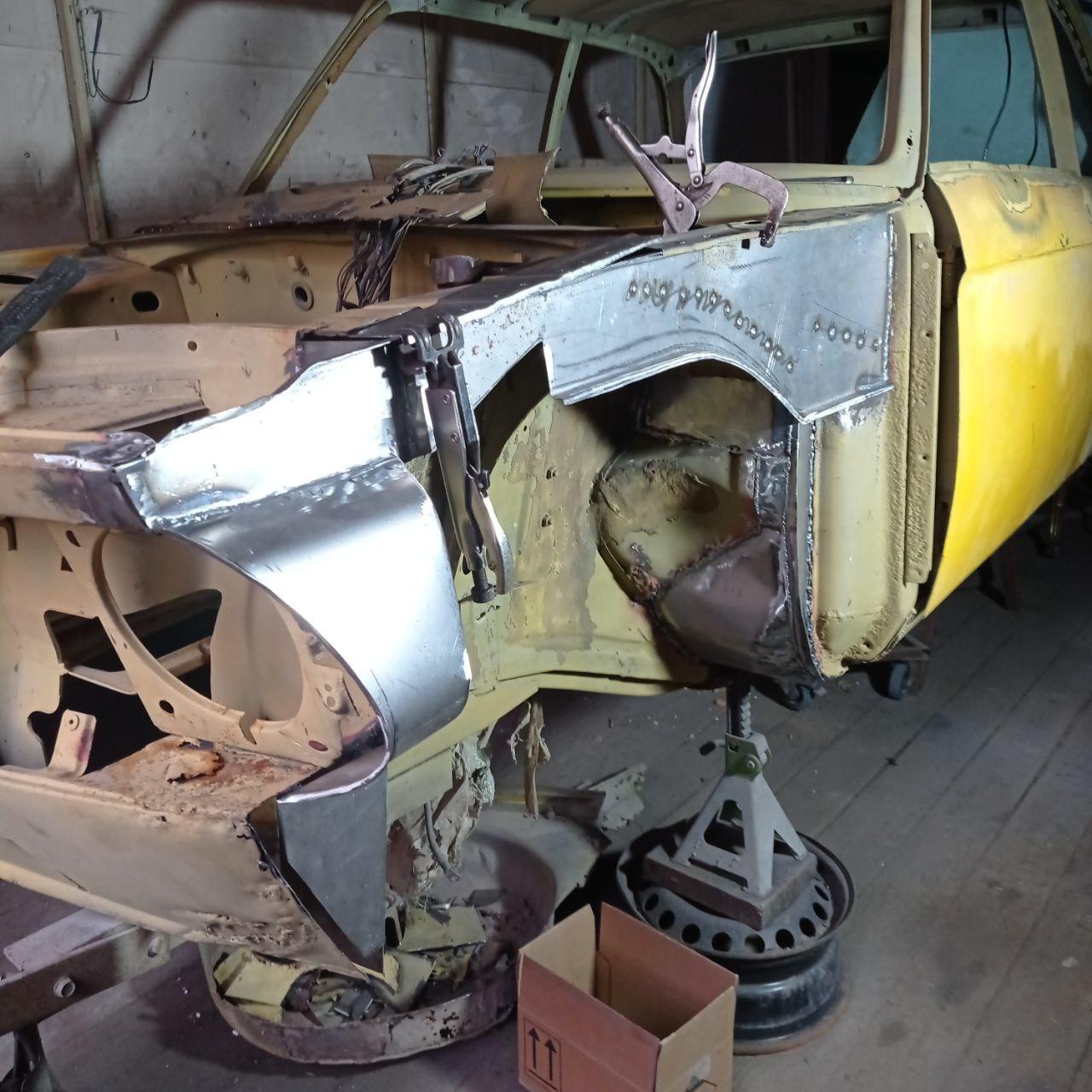 Ремонт кузова BMW 02