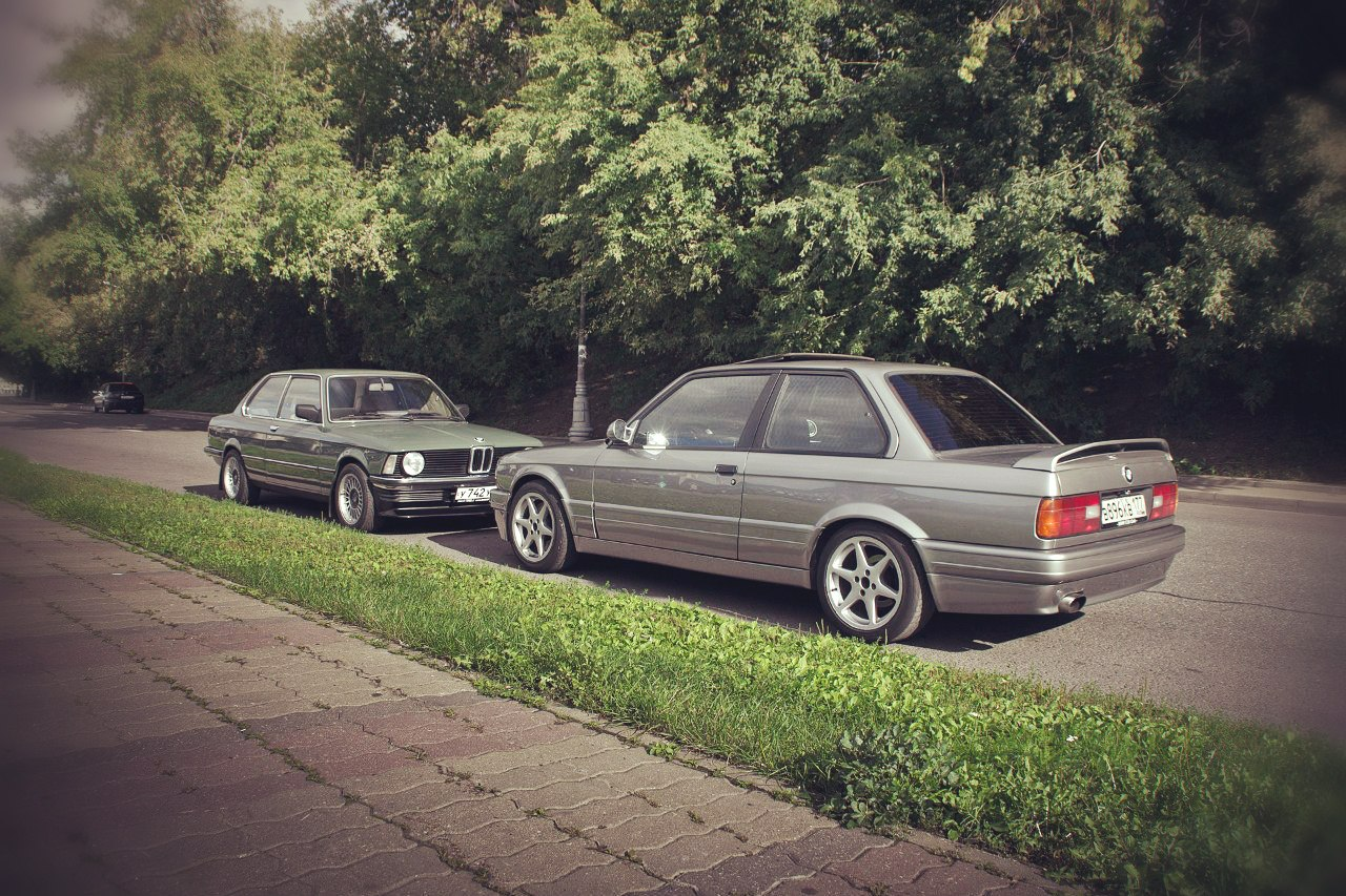 BMW E21 и E30