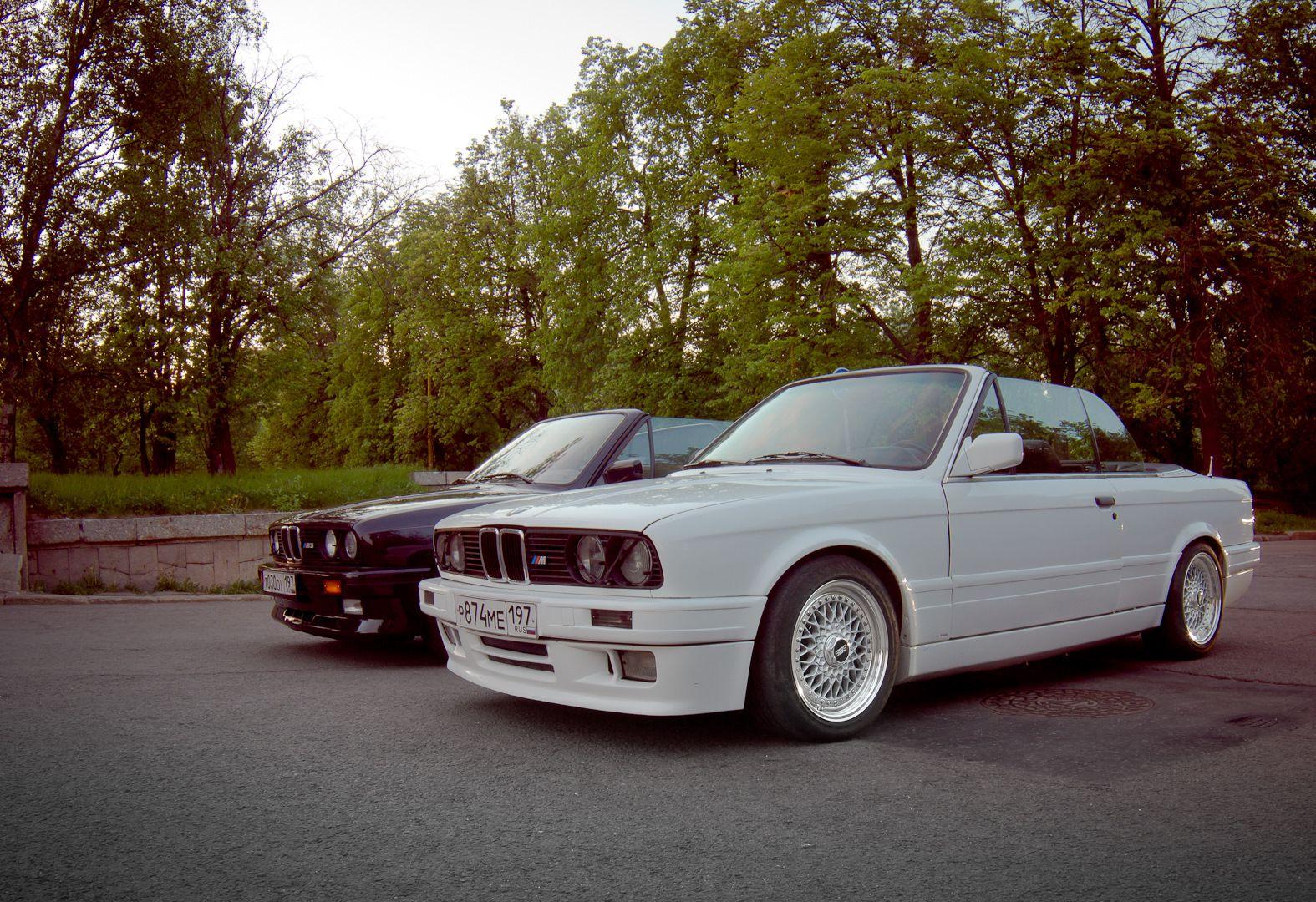 BMW E30 Mtechnik 2 Convertible