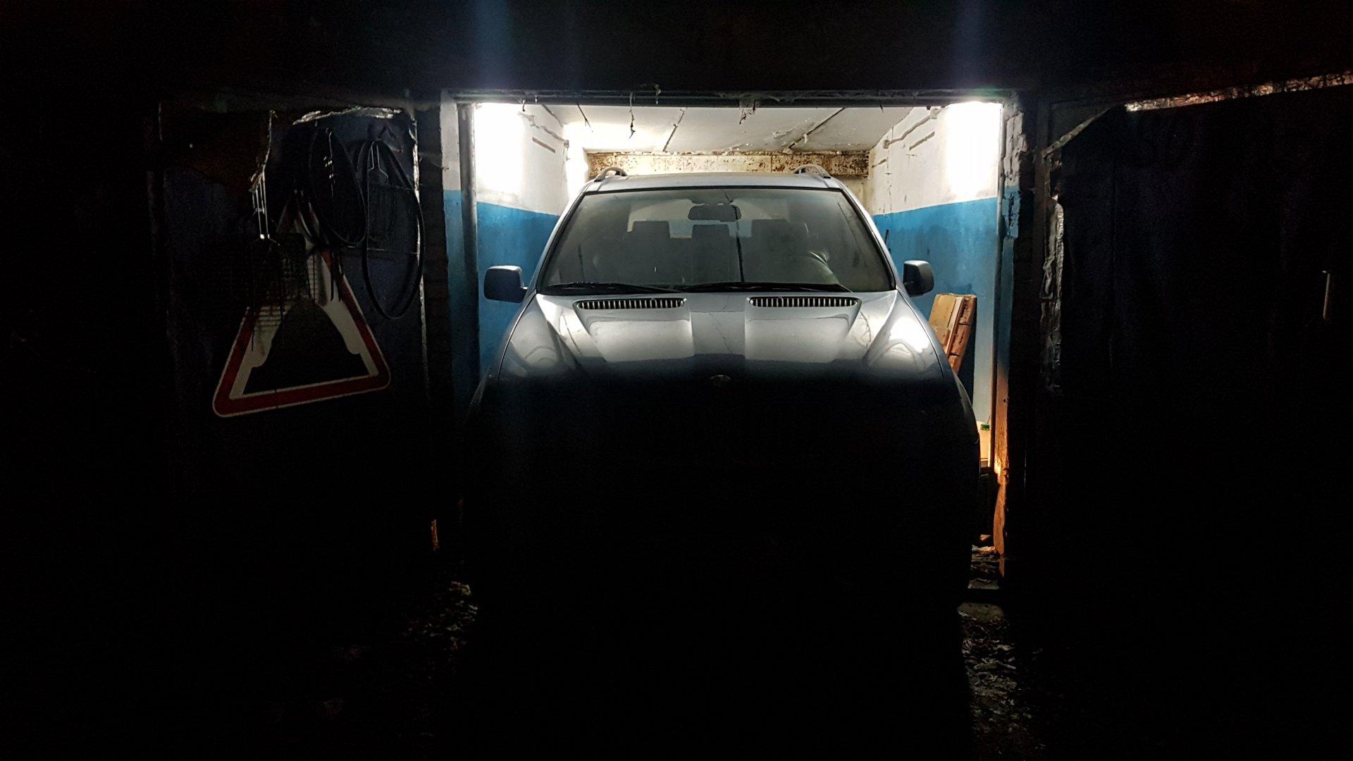 х5 е53 в гараже